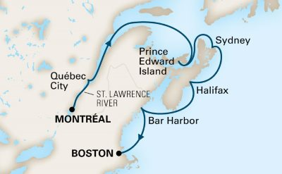 Cruise From Quebec To Boston