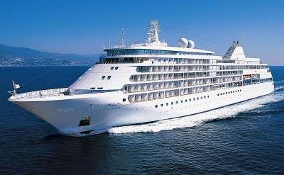 Silversea cruise ship